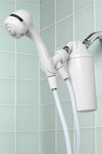 Shower head water filter by Auqasana