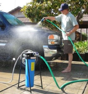Portable Car Water Softener