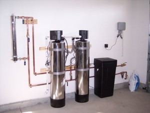 How to install a whole house water filtration system.